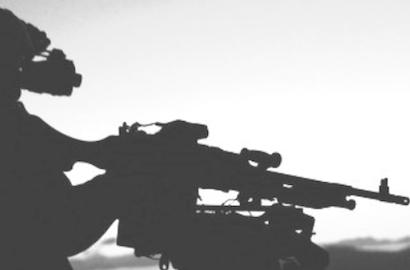 Night firing with  .50 cal HMG