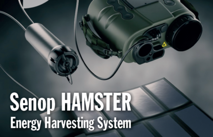 New: HAMSTER – energy harvesting system – by SENOP